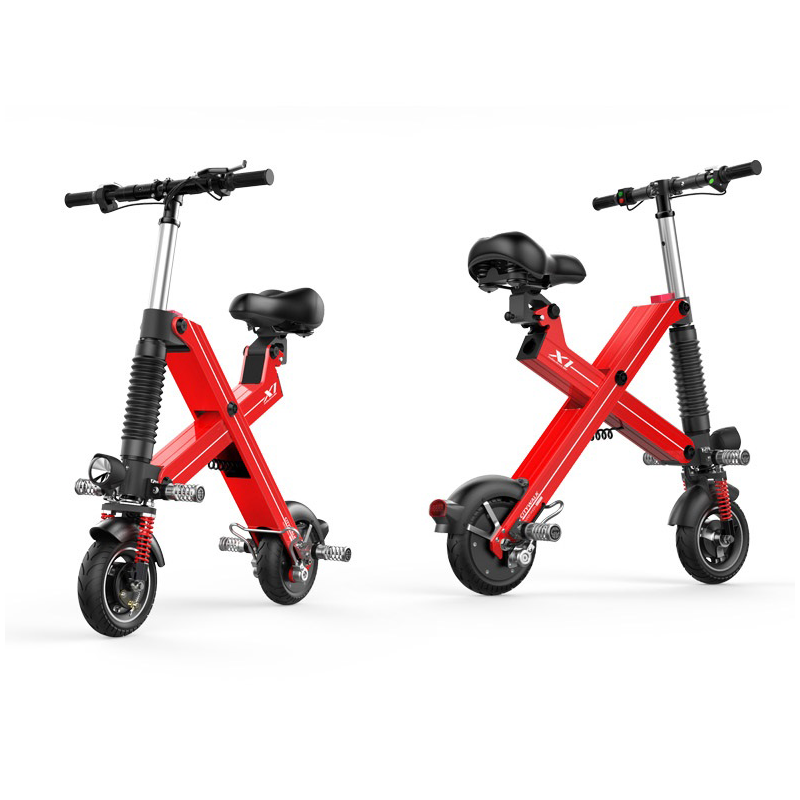 Battery power X1 folding electric scooter