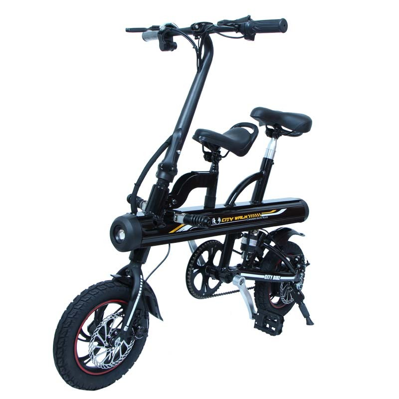 GS5 aluminium electric bicycle with two wheels