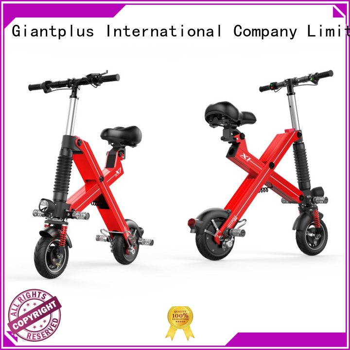 sitting electric black electric scooter wholesale Giantplus Brand