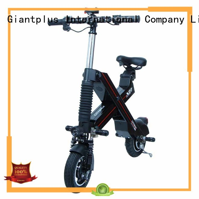 Quality Giantplus Brand battery black electric scooter manufacturers